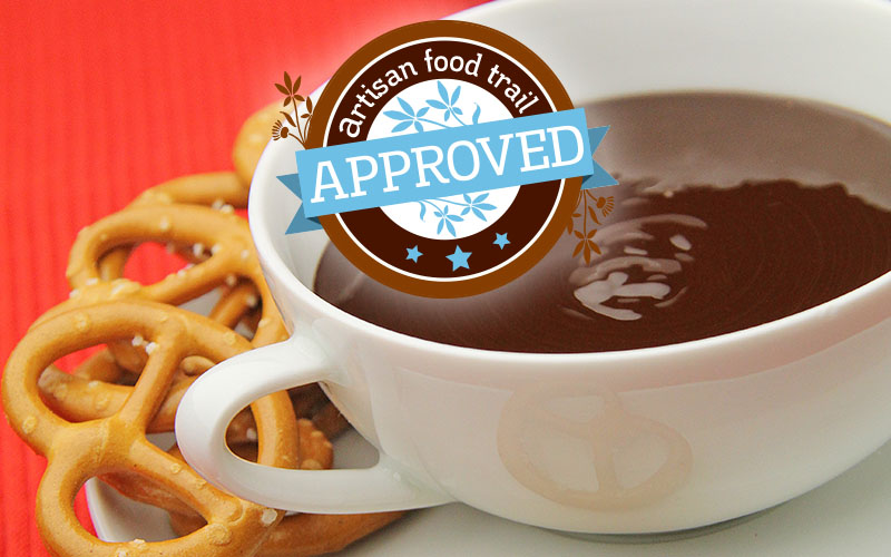 Snuggle up with a deeply dippy chocolate fondue