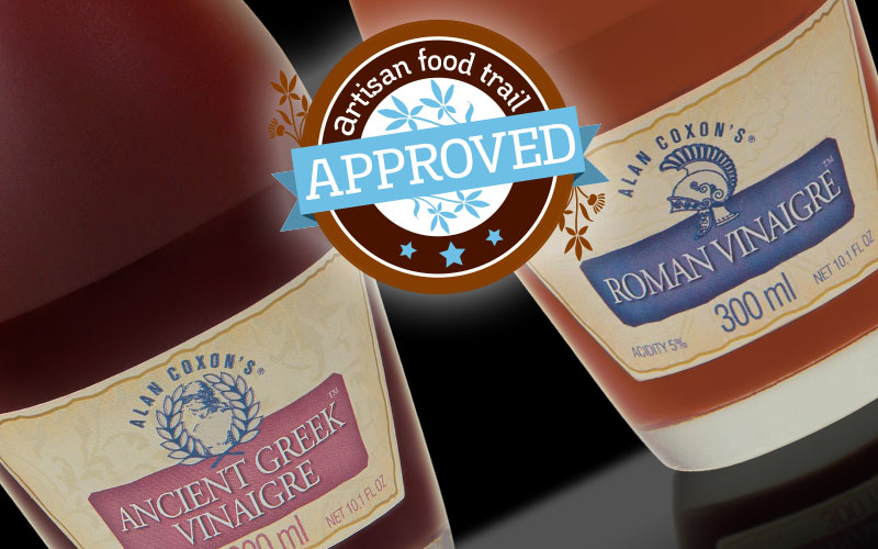 The past is brought to life in Alan Coxon's historic vinegars