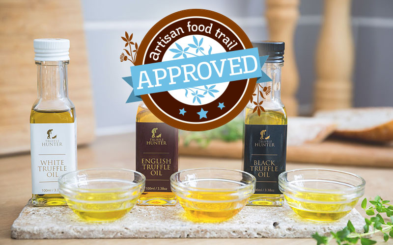 Truffle oil trio receives top marks