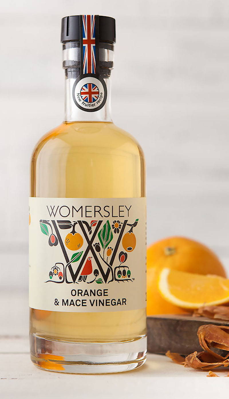 Orange & Mace Vinegar – Womersley Foods - The Artisan Food Trail