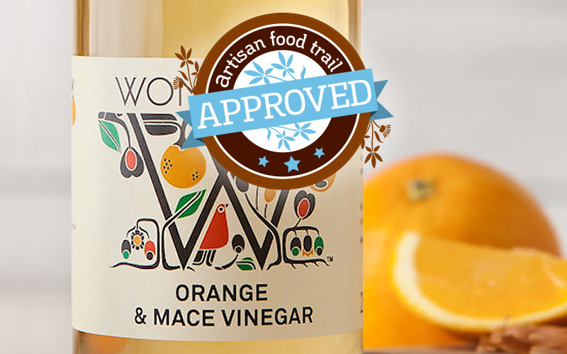 Approved: Womersley's Orange & Mace Vinegar