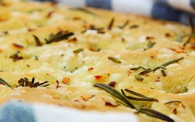 Recipe: Lavender, Chilli & Rosemary Focaccia