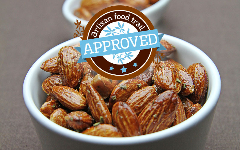 Mr Filbert's French Rosemary Almonds approved