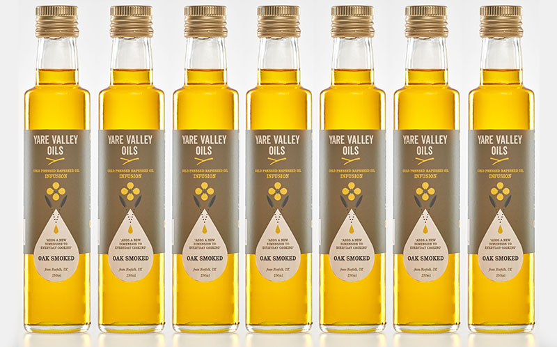 Oak Smoked Oil – Yare Valley Oils 1 - The Artisan Food Trail