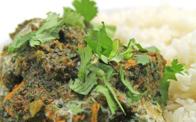 Recipe: Chicken & Spinach Curry