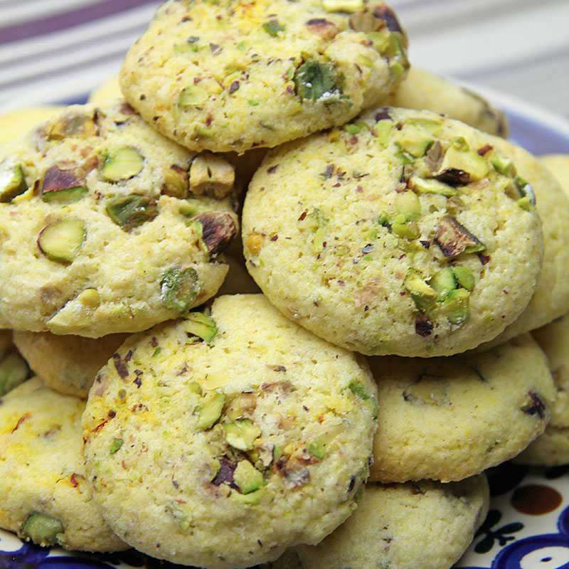 Saffron & Pistachio Biscuits recipe – The Artisan Food Trail