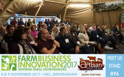 Meet us at the Farm Business Innovation Show