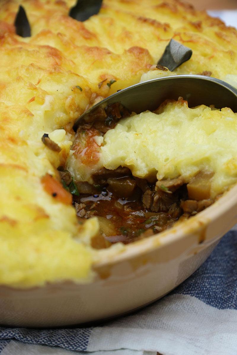 Turkey Pie Recipe – Turkey Farmer's Pie – Artisan Food Trail