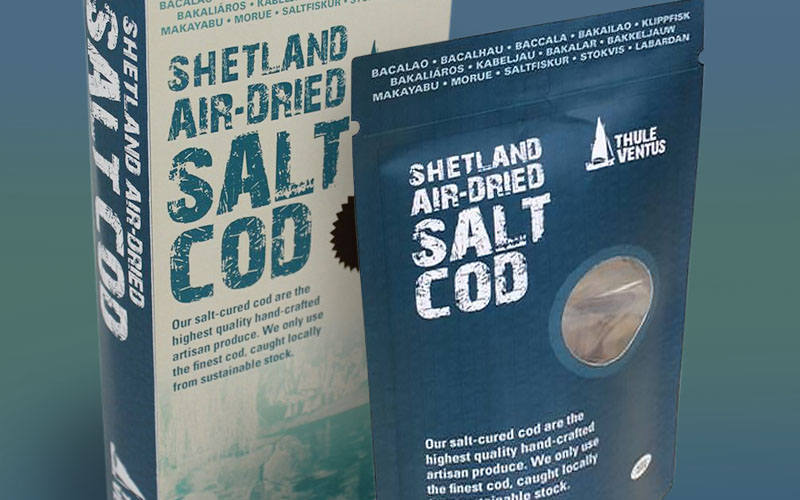 Shetland Air-Dried Salt Cod from Thule Ventus