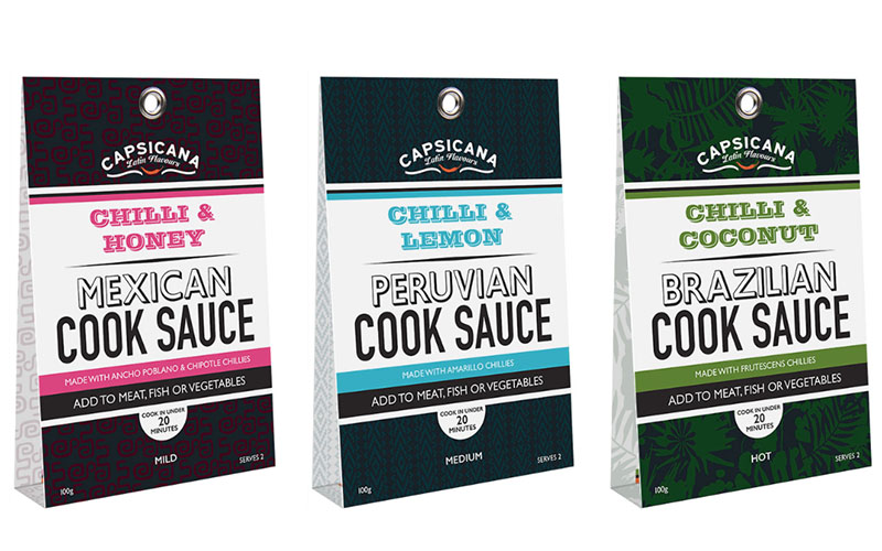 Capsicana Cook Sauces Competition – Win 1 of 4 mixed cases