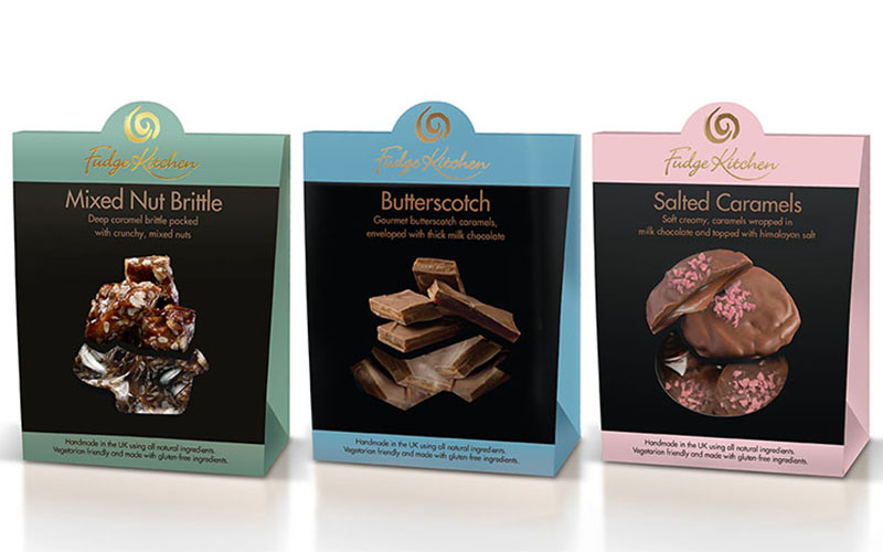 Three new 'Delectables' in the Fudge Kitchen range