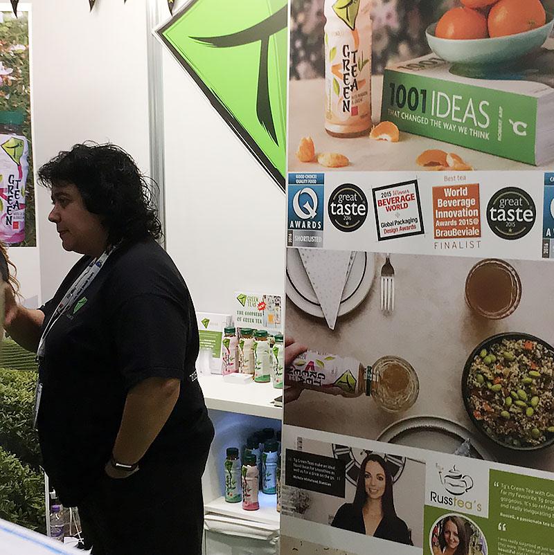 IFE 2017 Tg Green Tea - The Artisan Food Trail