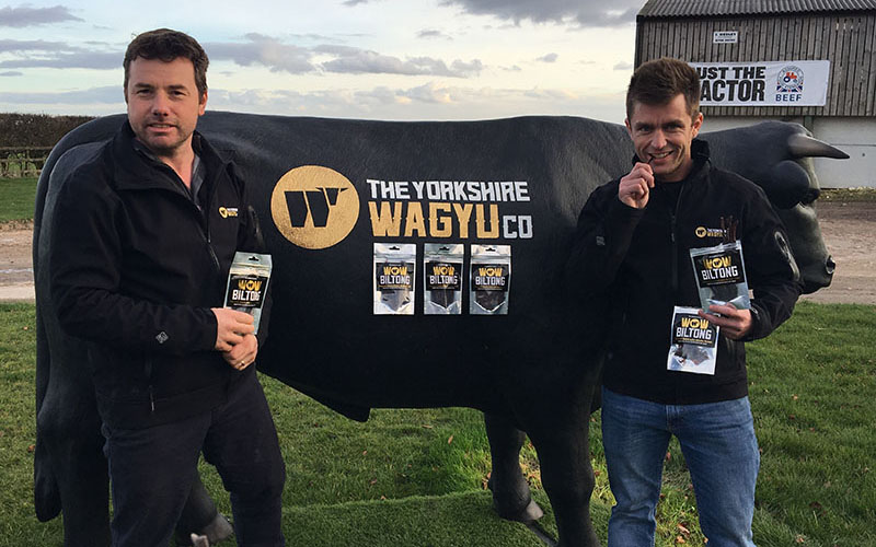 Yorkshire Wagyu beefs up snacking