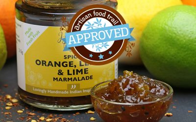A spicy marmalade to be relished