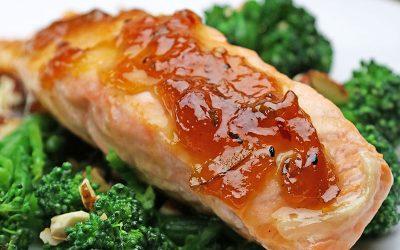 Recipe: Spicy Marmalade Glazed Salmon