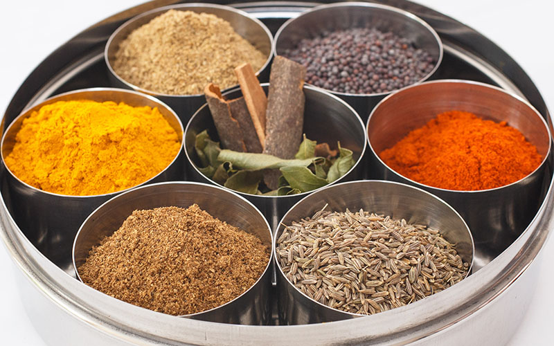 Spice Kitchen Competition – Win an Indian Spice Tin with 10 Spices