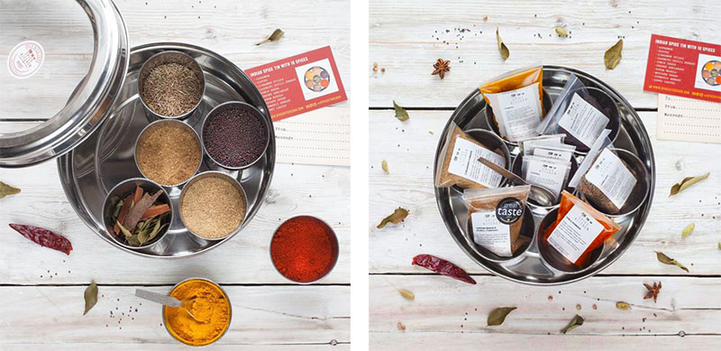 Indian Spice Tin Competition – Spice Kitchen - The Artisan Food Trail