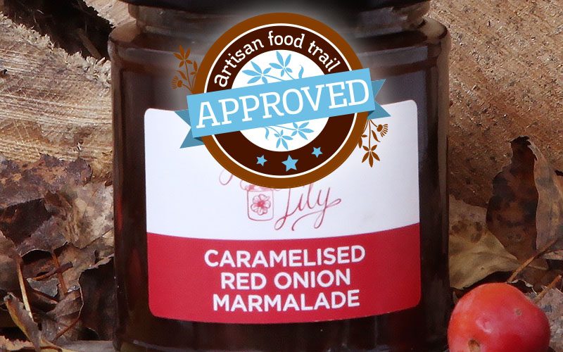 A Caramelised Red Onion Marmalade with the right credentials