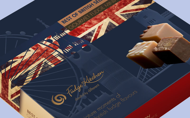 Fudge Kitchen Competition: Win a Best of British Selection Box