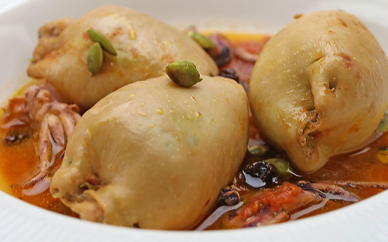 Recipe: Stuffed Squid