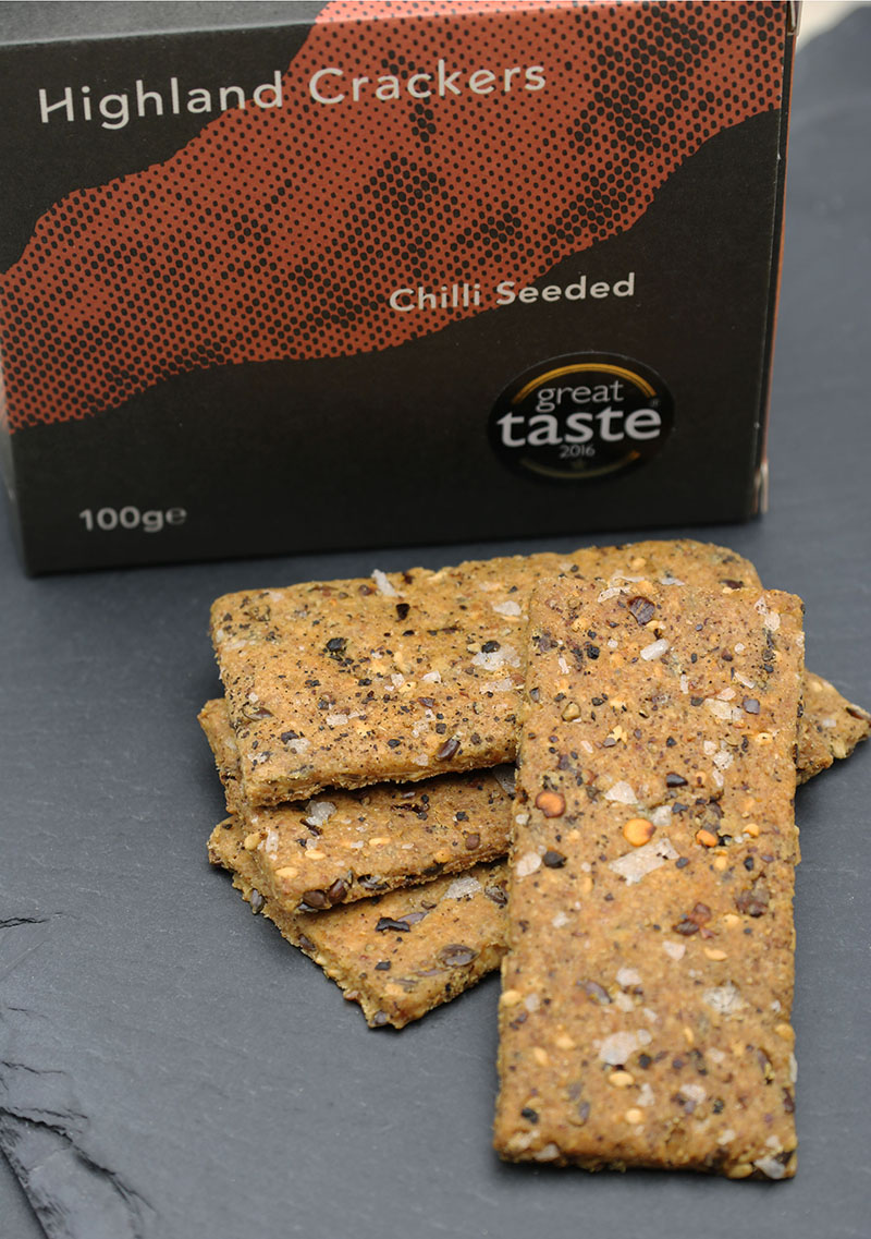 Highland Crackers – Seeded Crackers 3 - The Artisan Food Trail
