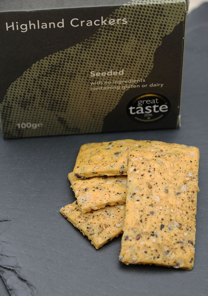Highland Crackers – Seeded Crackers 4 - The Artisan Food Trail