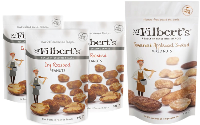 Mr Filbert's nuts – Dry Roasted Peanuts and Somerset Applewood Smoked Mixed Nuts - The Artisan Food Trail