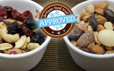 Trail mix turns luxury for a special treat