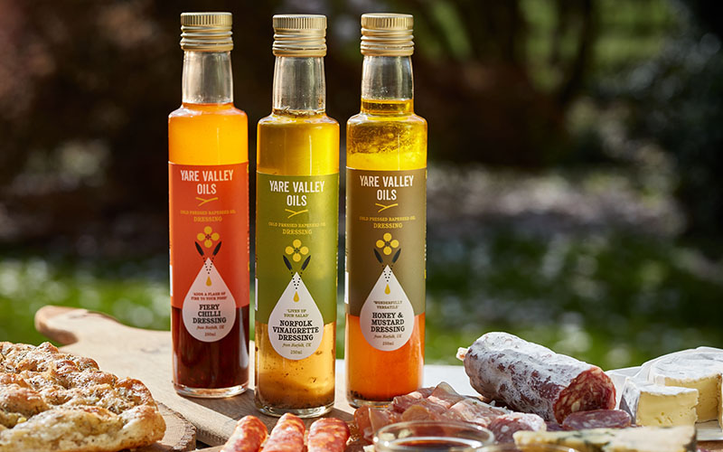Yare Valley Oils Competition: Win a gift pack of three dressings