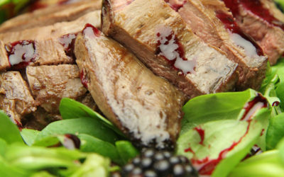 Recipe: Pan Fried Grouse with Blackberries & Blackberry Dressing