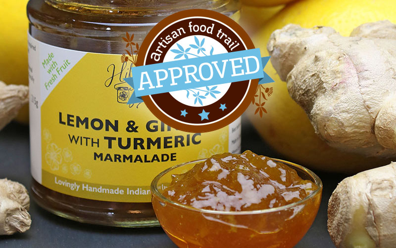 Hibiscus Lily Lemon & Ginger with Turmeric Marmalade hits the mark