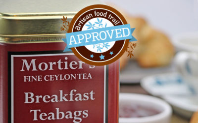 Superbly smooth and refreshing flavour from Mortier's Breakfast Teabags