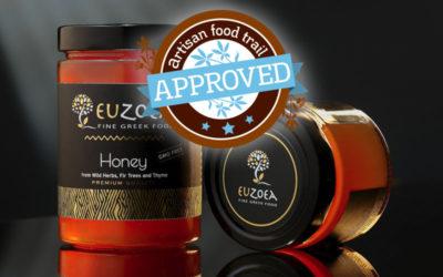 Euzoea Greek honey the best of nature's sweetness