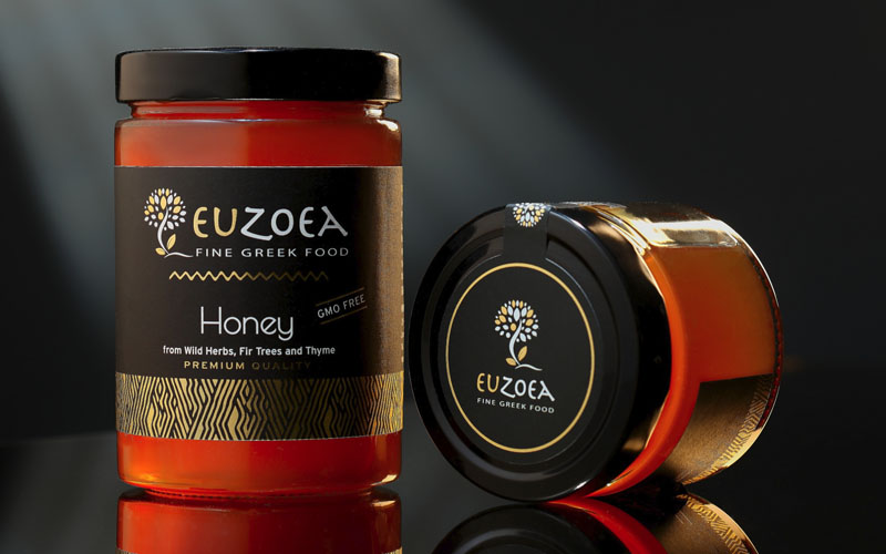 Euzoea Greek Honey – NV Greek Foods - The Artisan Food Trail