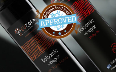 Smooth, dark and interesting Euzoea balsamic vinegars