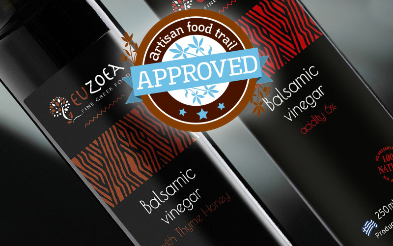 Smooth, dark and interesting Euzoea balsamic vinegars