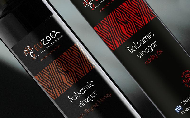 NV Greek Foods Euzoea Balsamic Vinegar 1 - The Artisan Food Trail