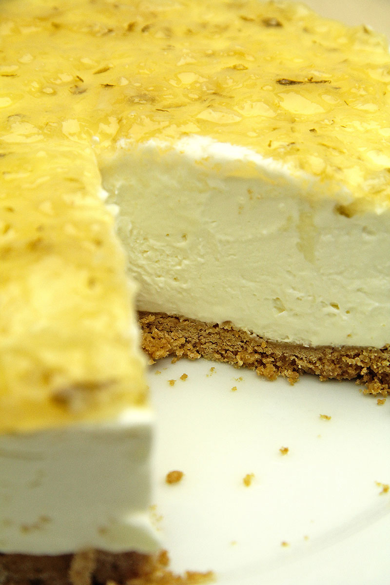 Marmalade Cheesecake recipe 1 – The Artisan Food Trail