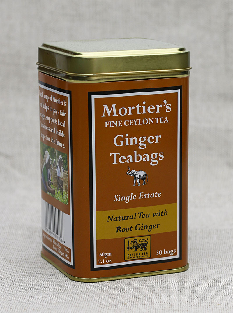 Mortier's Green Teabags and Ginger Teabags Approved 3 - The Artisan Food Trail