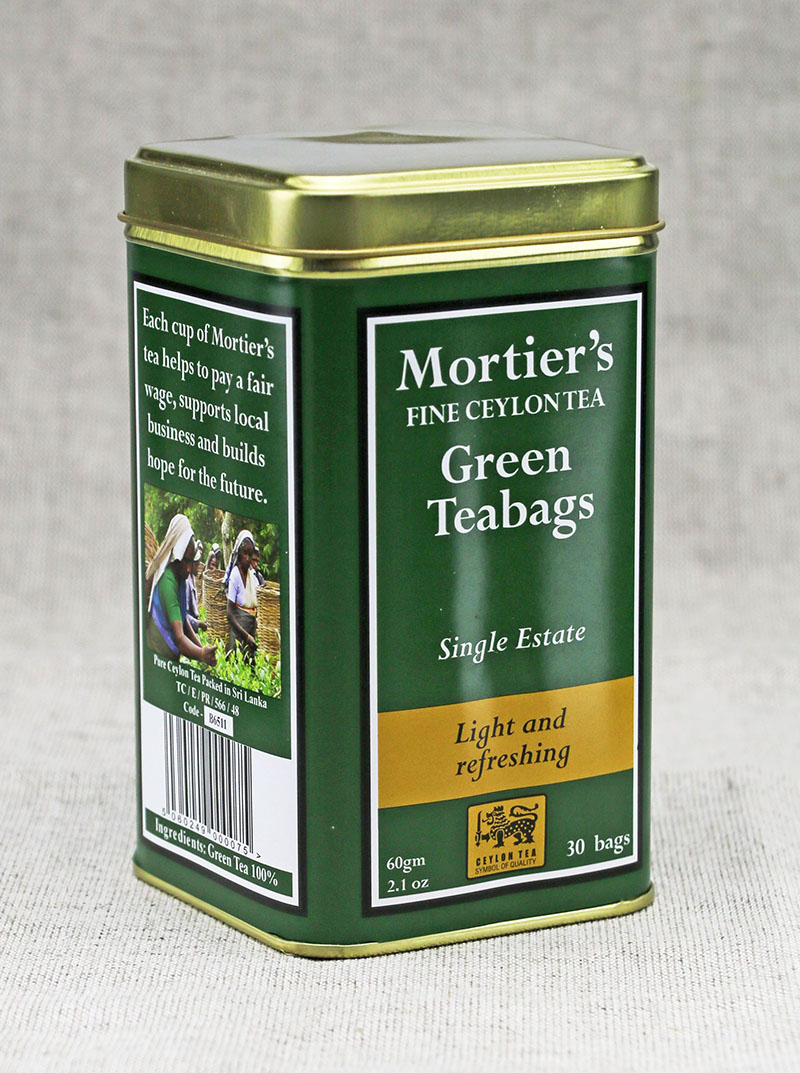 Mortier's Green Teabags and Ginger Teabags Approved 2 - The Artisan Food Trail