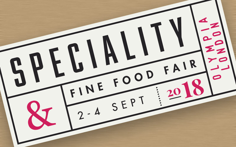 Speciality & Fine Food Fair 2018 - The Artisan Food Trail