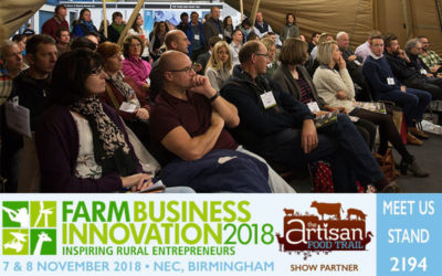 The Artisan Food Trail is back at the Farm Business Innovation Show 2018