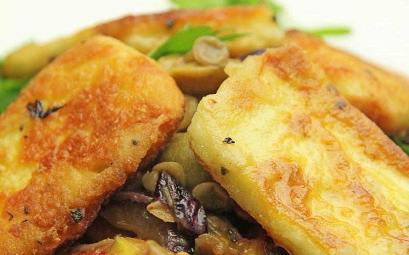 Recipe: Halloumi Lentil Salad