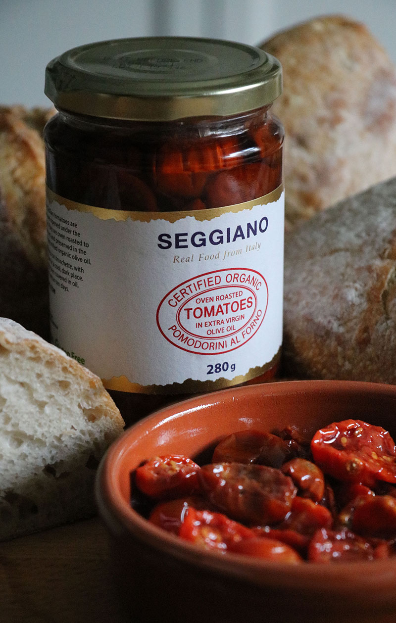 Seggiano Organic Oven Roasted Tomatoes - The Artisan Food Trail
