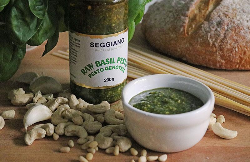 Seggiano Raw Basil Pesto - The Artisan Food Trail