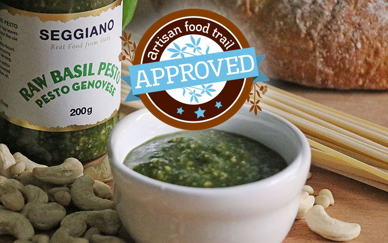 Seggiano Raw Basil Pesto is deliciously vegan and versatile