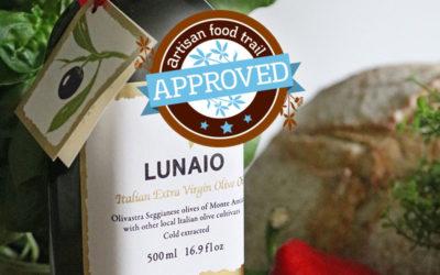 Lunaio Italian extra virgin olive oil taste approved