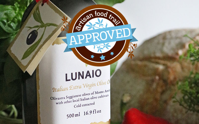 Lunaio Italian extra virgin olive oil taste approved