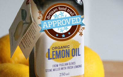 Adding a little zest to life with organic lemon olive oil from Seggiano
