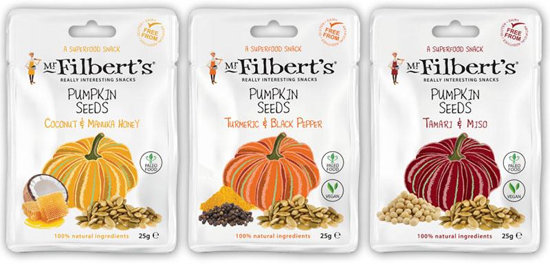 Mr Filbert's Pumpkin Seeds 2 – The Artisan Food Trail
